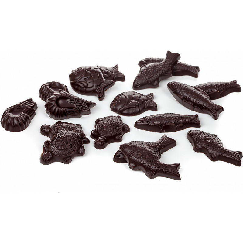 Sachet de friture chocolat Pâques 200g