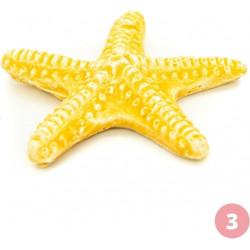 Figurine étoile de mer jaune