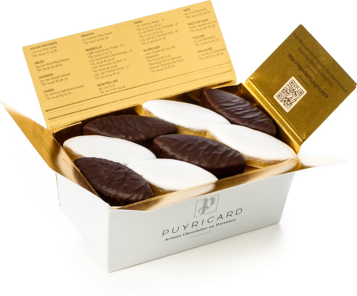 Ballotin chocolats Palets d'Or 230g