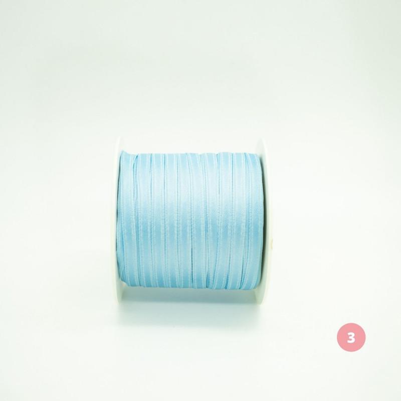 Light blue satin ribbon