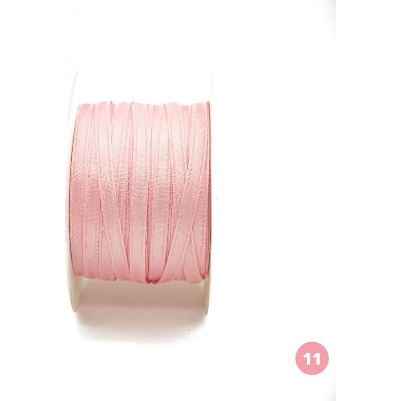Light pink satin ribbon
