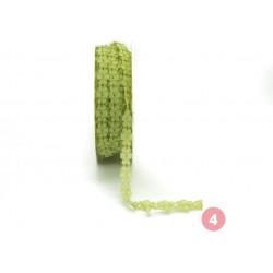 Green Lacy lace ribbon