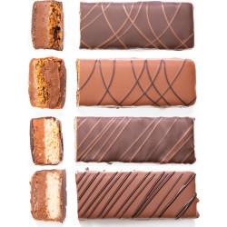 ensemble de barre chocolat café puyricard