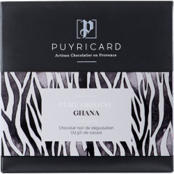 Tablette chocolat noir 72,5% Pure Origine Ghana