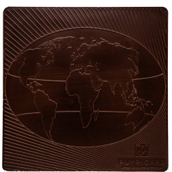 Tablet of Pure Dark Chocolate 64% Mexico 100g