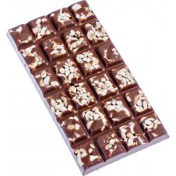 BAR OF MILK  HAZELNUTS CHOCOLATE 110 G