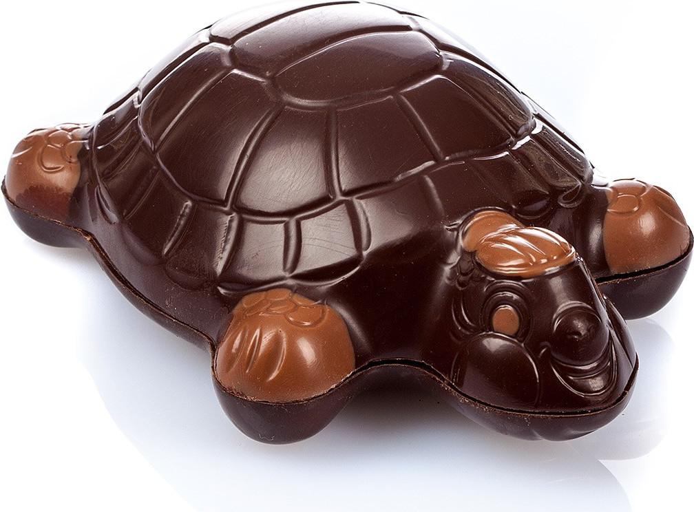 Oeuf de Pâques chocolat écailles garni 150g