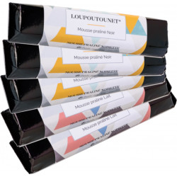 PACK OF 5 LOU POUTOUNET CHOCOLATE BARS