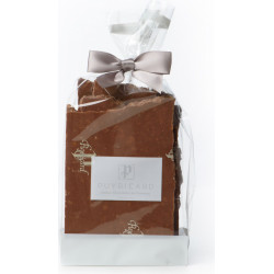 MILK CHOCOLATE AND FEUILLANTINE SLABS