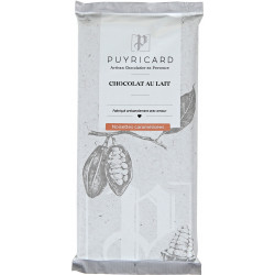 BAR OF MILK CHOCOLATE WITH CARAMELISED HAZELNUTS