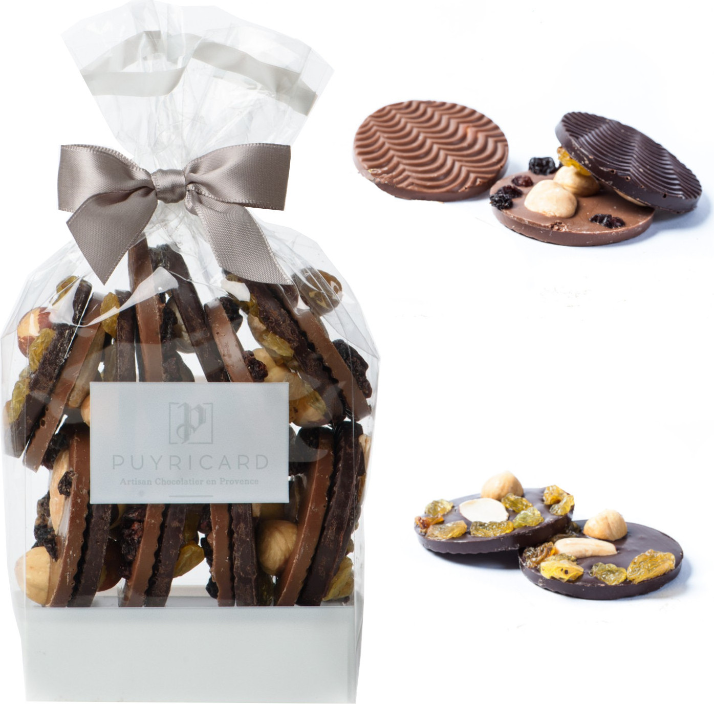 Coq en chocolat de Pâques garni 100g