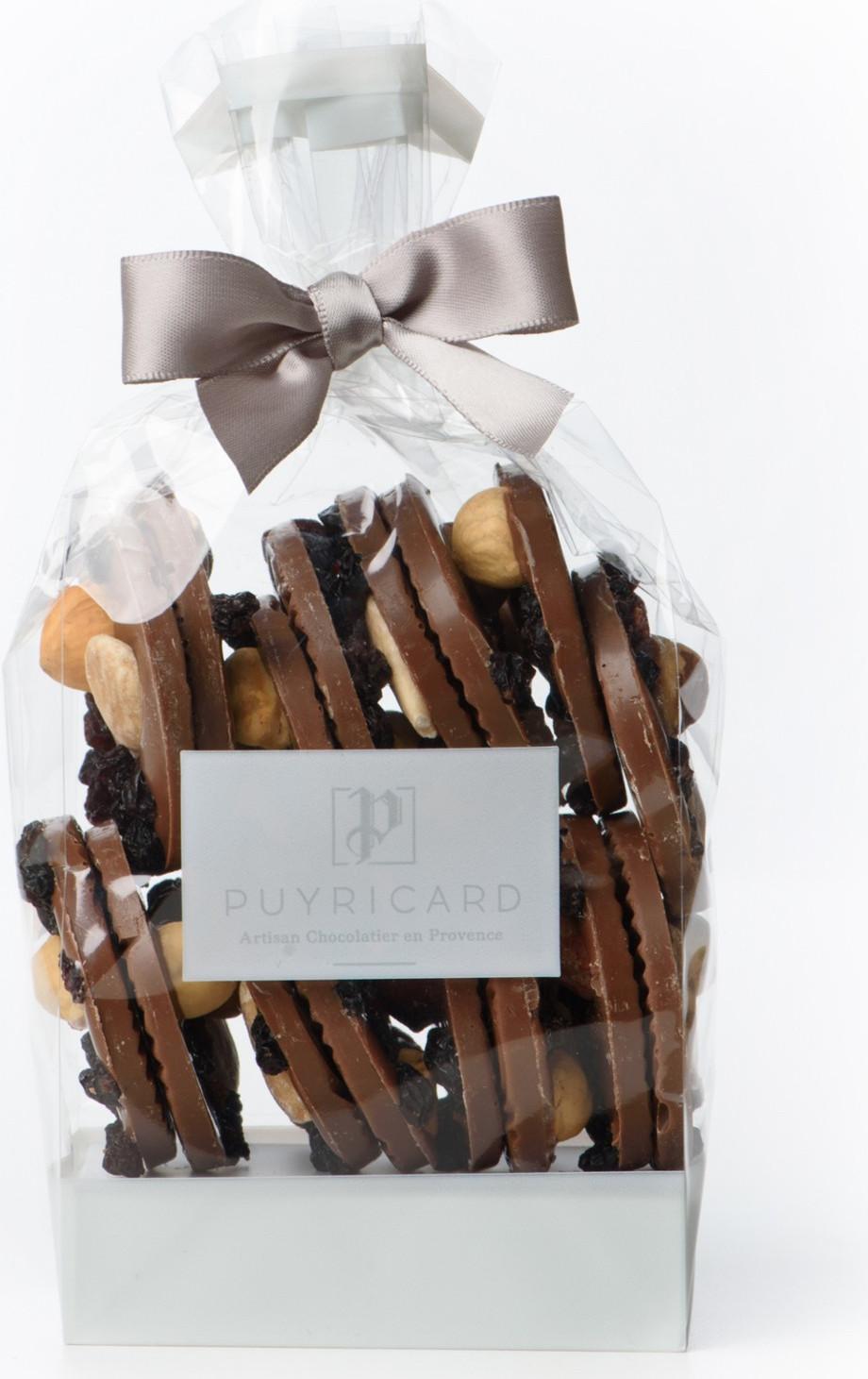 Cloche en chocolat de Pâques garnie 50g