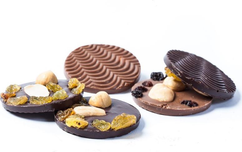 Cloche garnie en chocolat