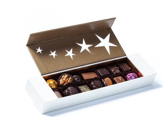 Chat Figaro en chocolat de Pâques garni 40g