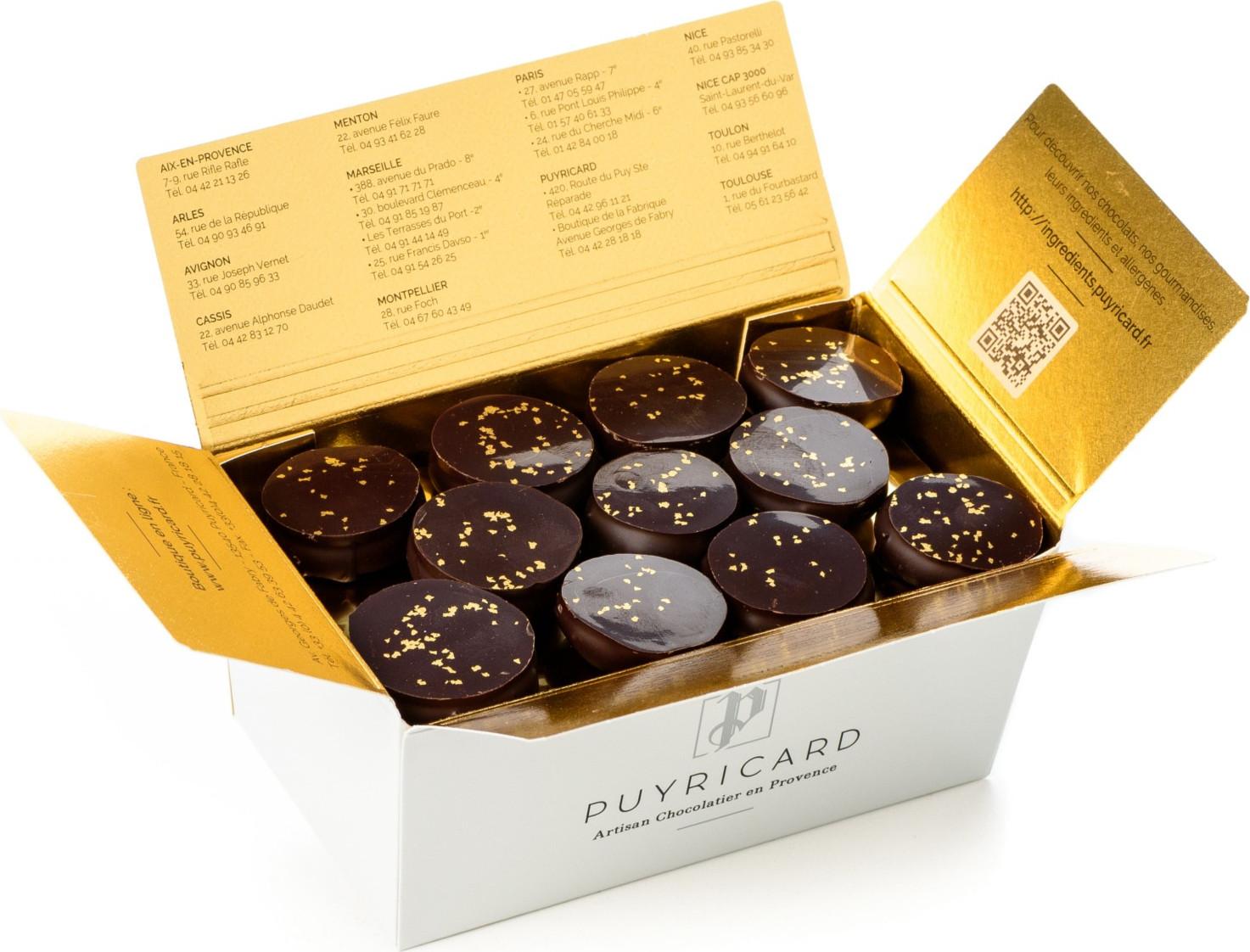 Ourson en chocolat de Pâques garni 150g