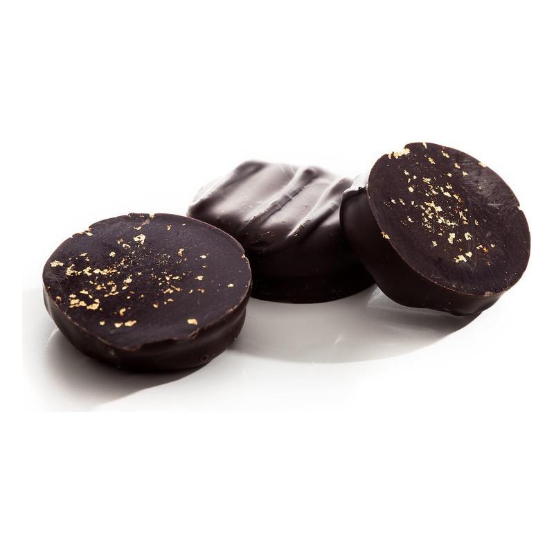 Réglette de chocolats palets d'or