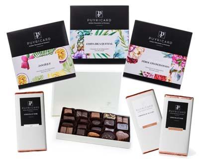 tablettes chocolat de puyricard