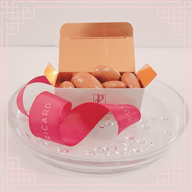 dragées caramel chocolat