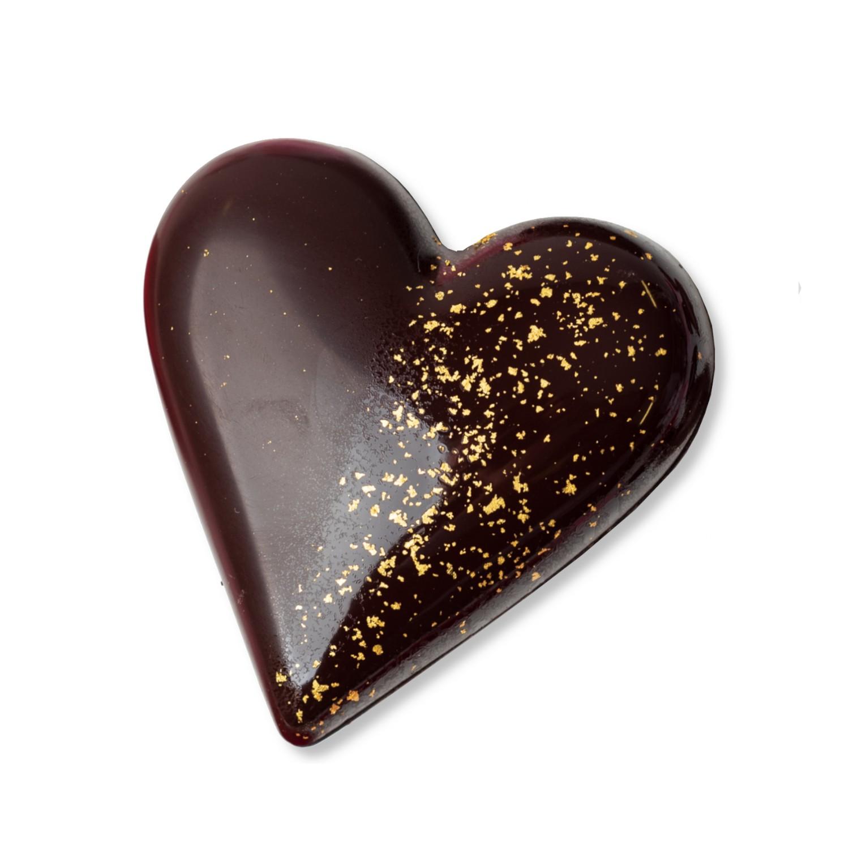 coeur garni de chocolats