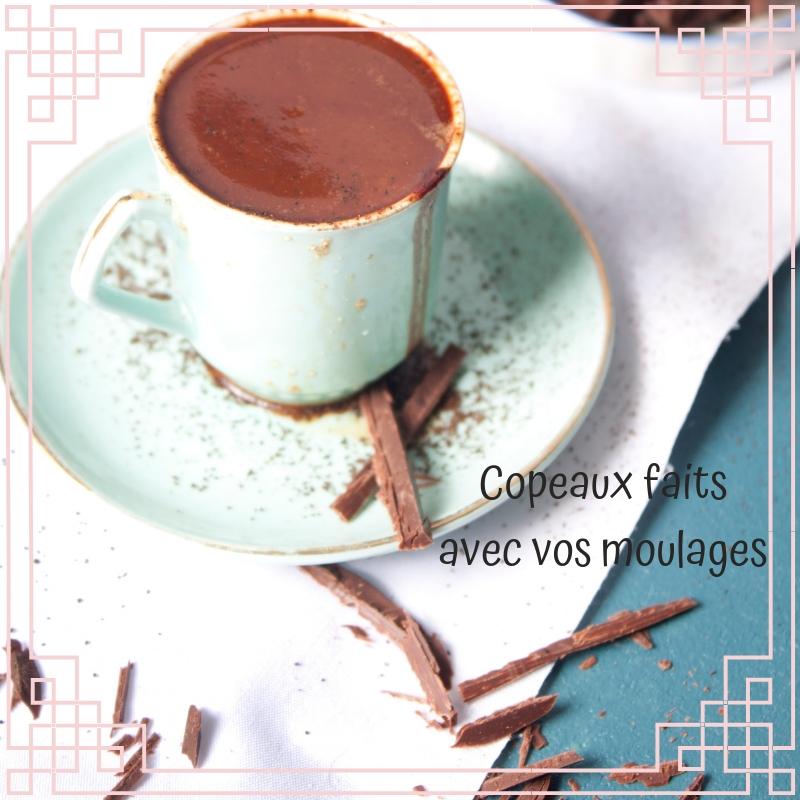 chocolat chaud et copeaux